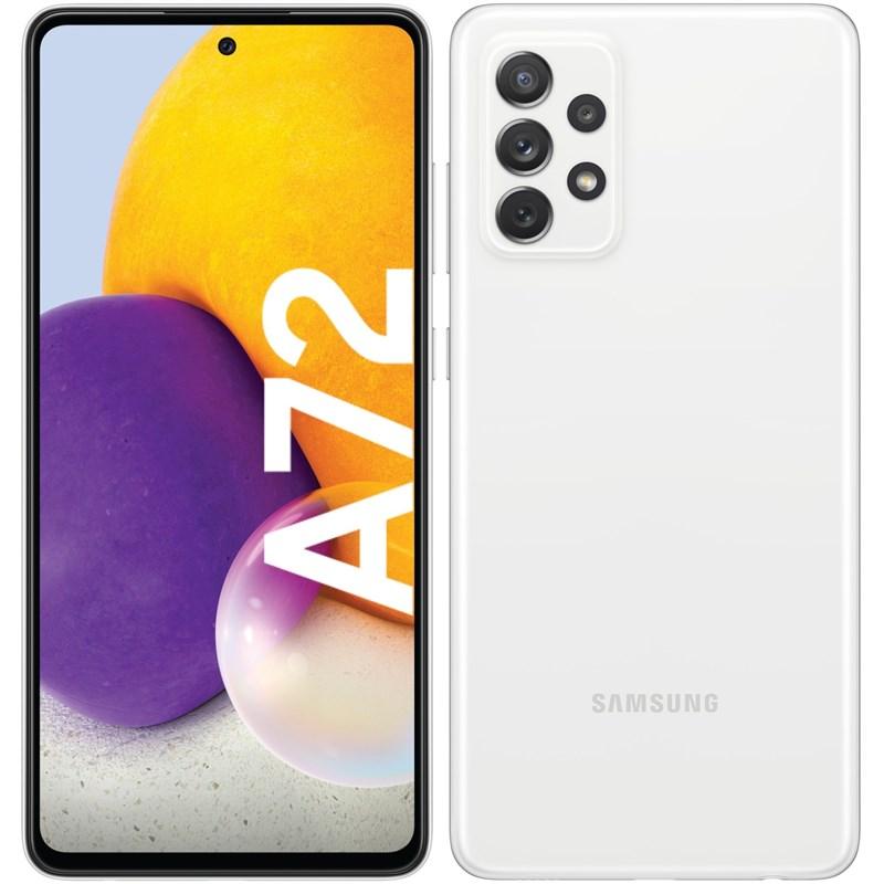 Mobilní telefon Samsung Galaxy A72 - bílý