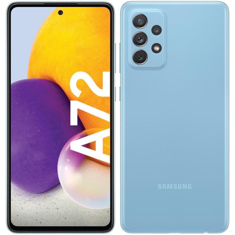 Mobilní telefon Samsung Galaxy A72 - modrý