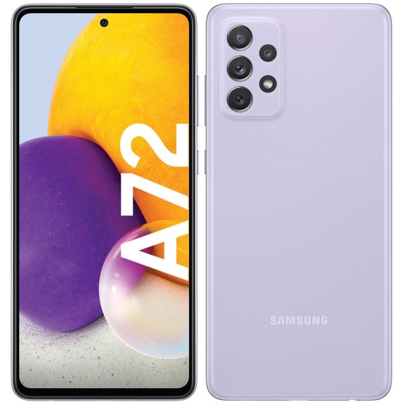 Mobilní telefon Samsung Galaxy A72 - fialový