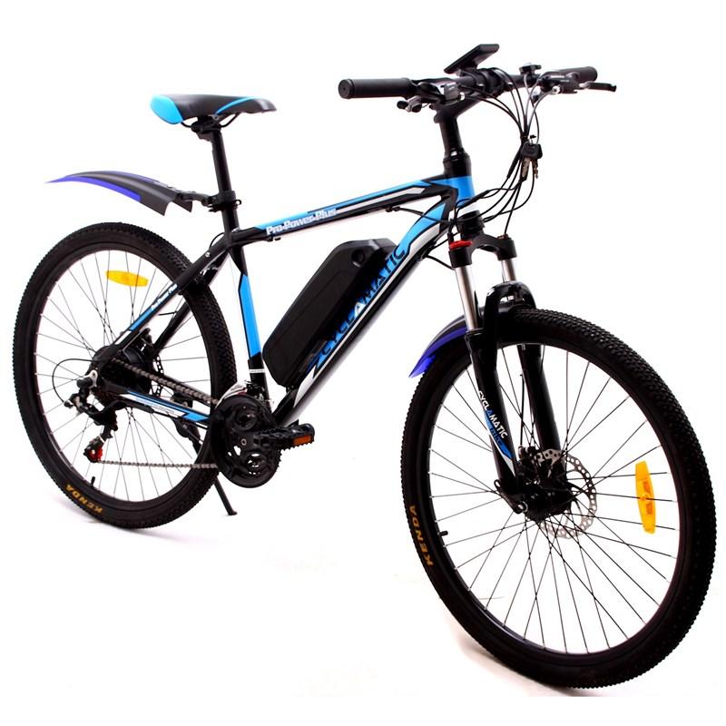 Elektrokolo CyclAmatic CX 3 černá/modrá