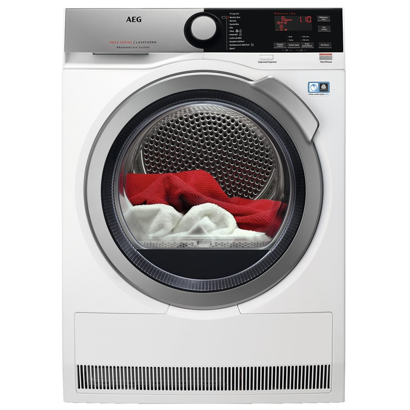 Sušička prádla AEG AbsoluteCare® T8DEE48SC