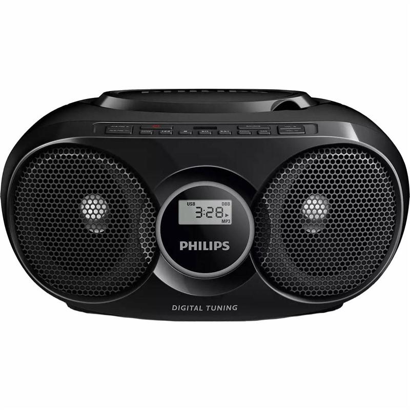 Radiopřijímač s CD Philips AZ318B, černý