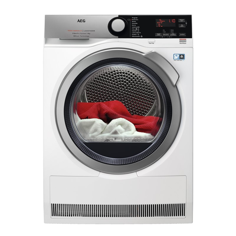 Sušička prádla AEG FiberPro T9DBE69SC 3DScan