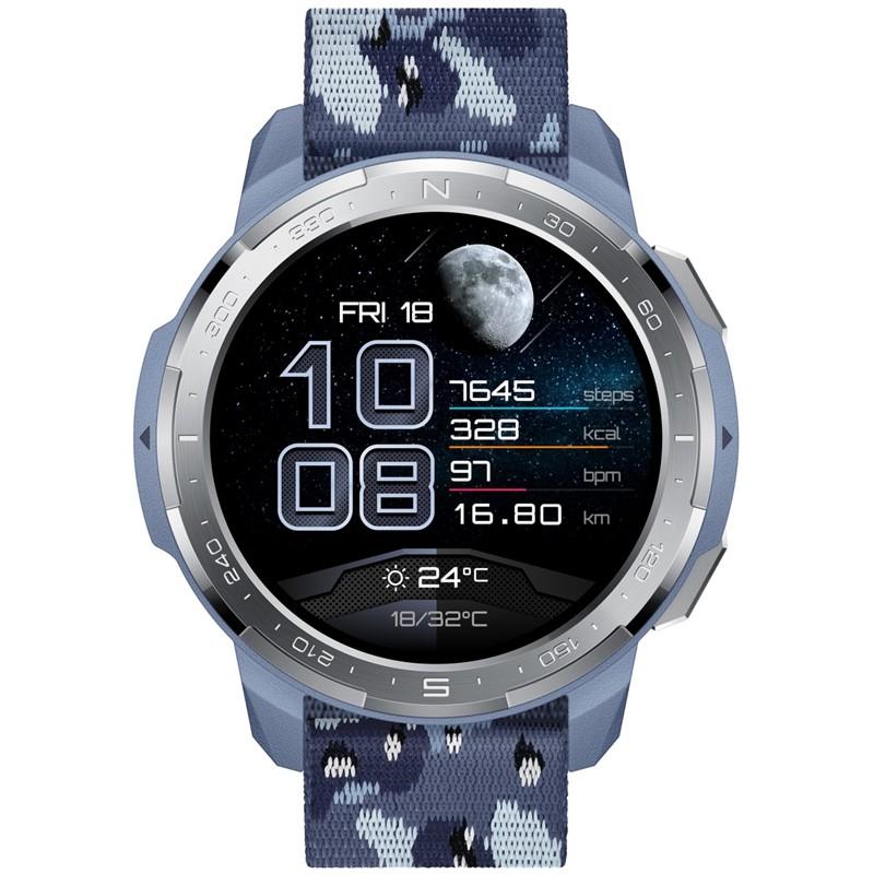 Chytré hodinky Honor Watch GS Pro - modré
