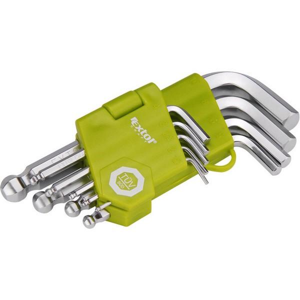 Sada L-klíčů imbus EXTOL CRAFT 66000, 9 dílná