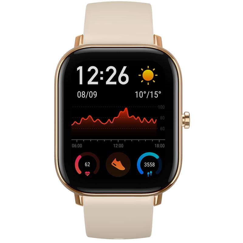 Chytré hodinky Amazfit GTS - zlaté