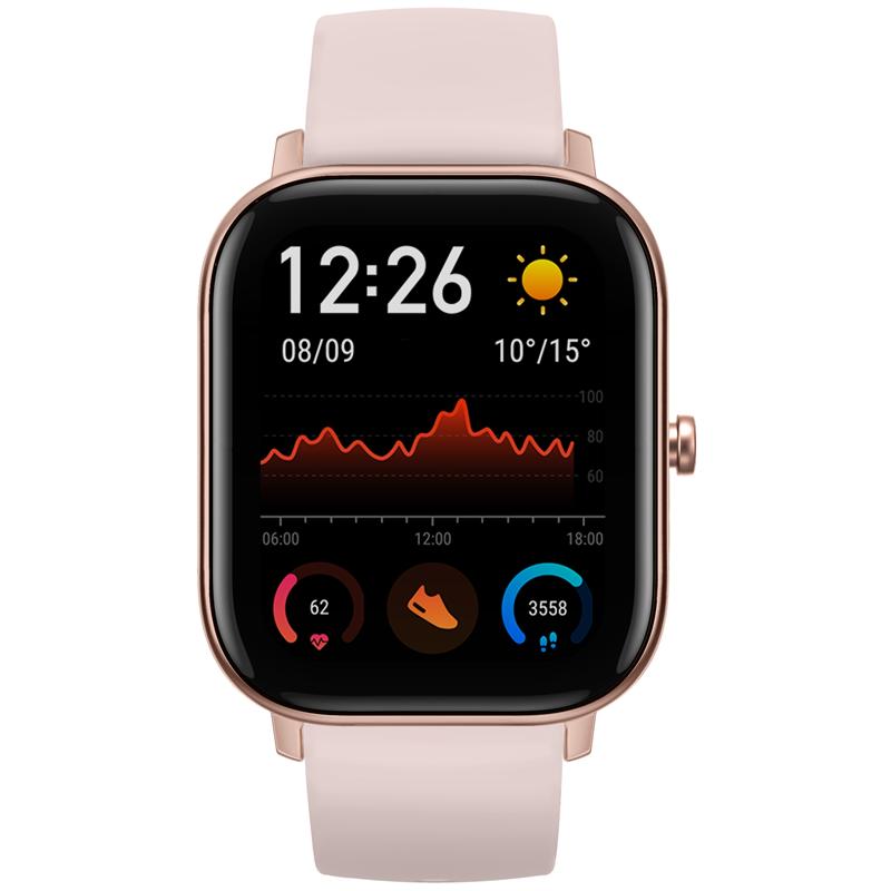 Chytré hodinky Amazfit GTS - růžové