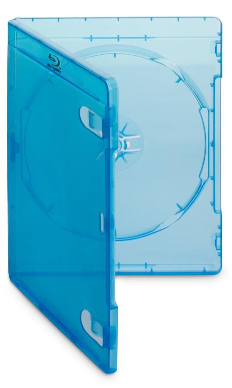 Box Cover IT na Blu-ray médium/ 12mm/ modrý/ 10pack