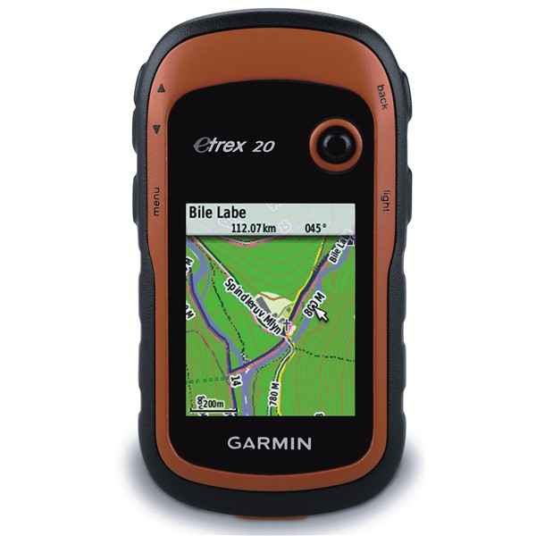 Navigace Garmin eTrex 20x východní evropa