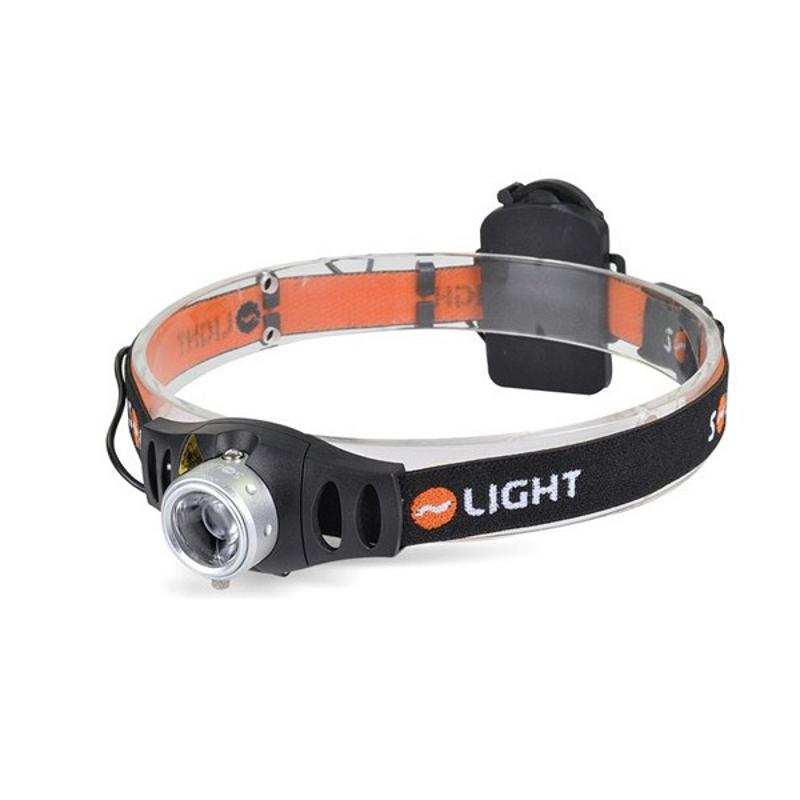 Čelovka Solight 3W Cree LED, 140 lm, stmívatelná