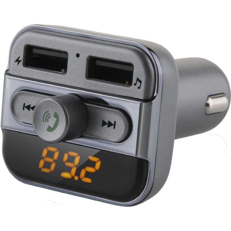 FM transmitter Hyundai FMT 520 BT CHARGE, s bluetooth a USB nabíjením, micro SD