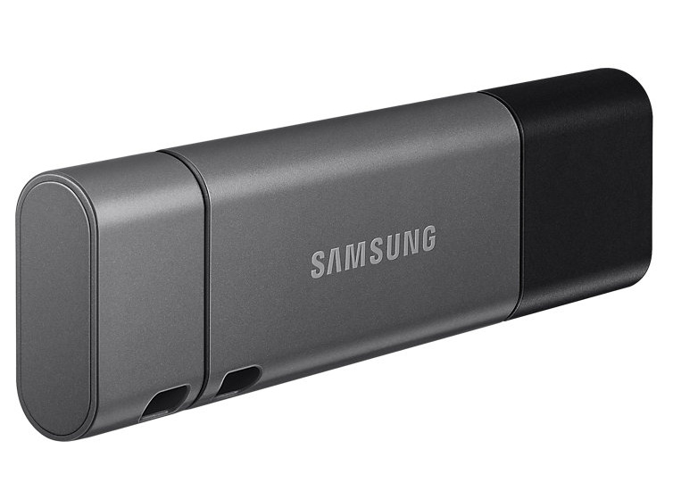 Flash USB Samsung Duo Plus 256GB USB-C USB 3.1 - černý