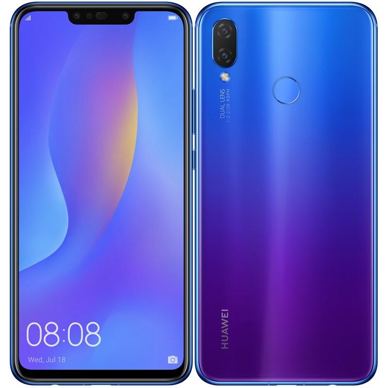 Mobilní telefon Huawei nova 3i - fialový