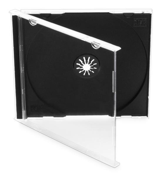 Obal Cover IT pro 1 CD jewel 10mm - černý (10ks/bal)