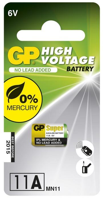 Baterie alkalická GP 11A