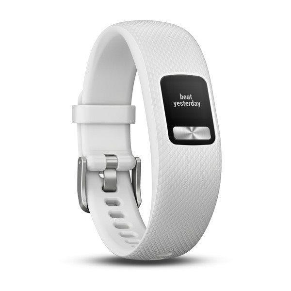 Monitorovací náramek Garmin Vivofit4 (velikost S/M), bílý
