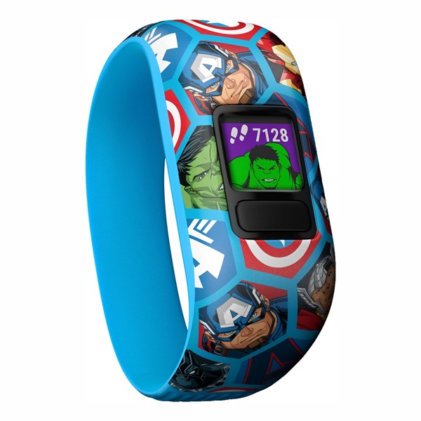 Monitorovací náramek Garmin Vívofit junior2 Avengers (Stretch)