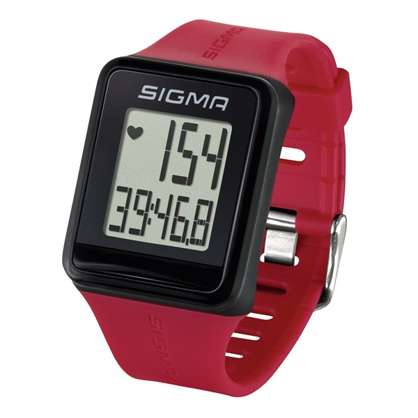 Sporttester Sigma iD.GO - rouge
