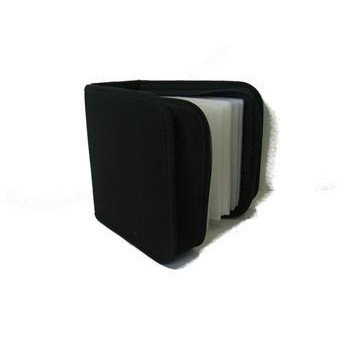 Box na CD/DVD Connect IT 48 CD zapínací - černý