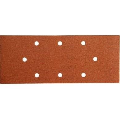 Brusný papír Extol Premium, bal. 10ks, 115x280mm, P80
