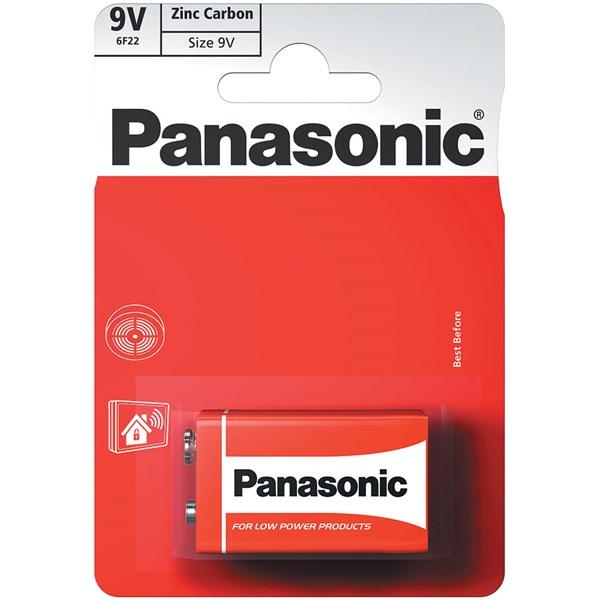 Baterie Panasonic 9V Zinc Carbon